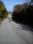 Vožnja med količki z rolarji
